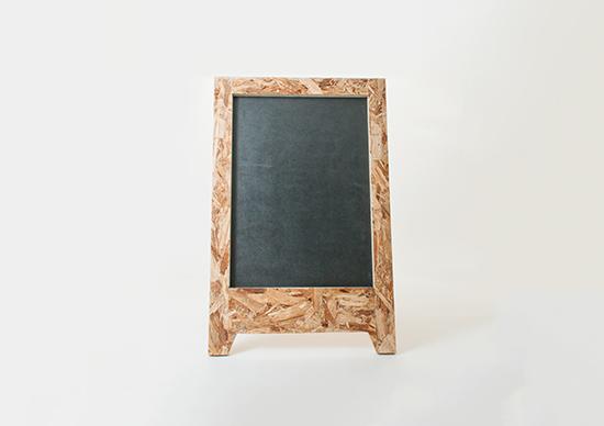 黒板看板 前面